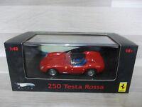 Hot Wheels Elite 1/43 - Ferrari  250 Testa Rossa 1958  red