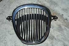 00 01 02 03 Jaguar S-Type Front Grill Grille Chrome