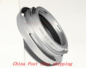 metal lens hood NO. 12504 for Leica/Leitz Wetzlar for 35mm f1.4 and f2 silvery