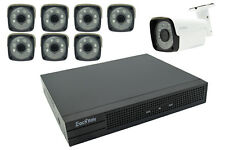 Kit videosorveglianza NVR POE h264 8 telecamere 2mp IP 8ch