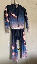 Team Usa U.S. Ski Team Alpine Skiing Downhill Suit - Spyder - Size Medium