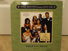 "THE ROOTS + JAGUAR - WHAT YOU WANT (12"")  1999!!!  RARE!!!  ?UESTLOVE!!!"