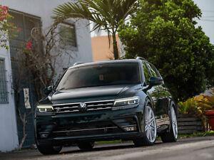 Fits Volkswagen VW Tiguan 2nd gen 2016,2017,2018,2019,2020 Badge Overlay (Radar)