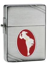 "Zippo ""Windy Varga"" Emblem 1935 Replica Chrome Lighter, 35000 Units, 28729"