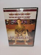 Lost in Translation (Dvd, 2004, Full Screen)New Bill Murray Scarlet Johansson