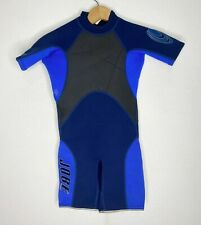 Jobe Childs Spring Shorty Wetsuit Juniors Size 10 2/1mm Blue