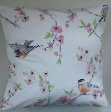 "Shabby Chic Garden Bird Cushion Cover 16"" x 16"""