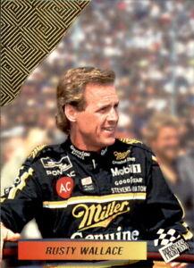 1994 Press Pass Checkered Flag #4 Rusty Wallace - Miller Genuine Draft MGD