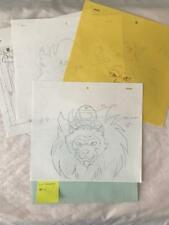 TRANSFORMERS JAPANESE BEAST WARS 2 II PRODUCTION ART! LIO CONVOY! LOT 1 1998