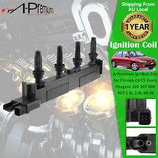 Ignition Coil for Citroen C4 C5 Xsara Picasso Peugeot 206 307 406 407 1.8L 2.0L
