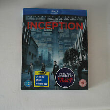 Bluray Inception (Blu-ray and DVD Combo, 2010, 3-Disc Set, Blu-ray And DVD)