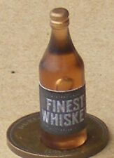 1:12 Scale Bottle Of Whiskey Tumdee Dolls House Miniature Pub Drink Accessory