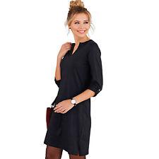 Vestido manga larga regulable mujer - 015571