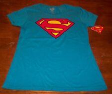 WOMEN'S TEEN DC COMICS SUPERMAN T-shirt LARGE NEW w/ TAG  WONDER WOMAN