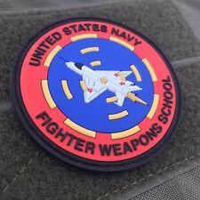 Topgun Fighter Weapon School 3D Pvc Morale Patch Set