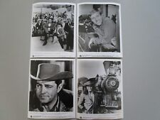 """IRON HORSE"" DALE ROBERTSON GARY COLLINS LOT DE 10 PHOTOS SERIE TV EM"