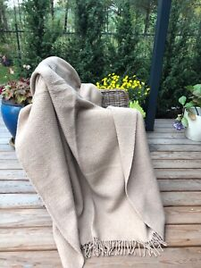 MERINO WOOL BLANKETS, WOOL THROW, SIZE 55 x 79 In, ECO, NEW, SOFT, PERFECT GIFT