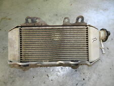 2006 Kawasaki KX250F Radiator Right FILL Side RH NO LEAKS OEM KX 125 250 450 F