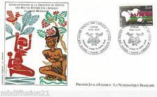 1986**FDC 1°JOUR!!**CENTRE ETUDE SUR L'AFRIQUE&ASIE**TIMBRE Y/T 2412