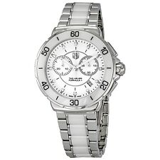BRAND NEW TAG HEUER FORMULA 1 CAH1211.BA0863 DIAMOND WHITE CERAMIC WATCH