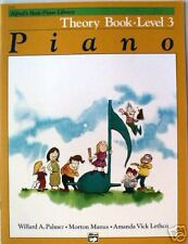 SALE - Alfred Basic Piano Library - Theory Book Level 3