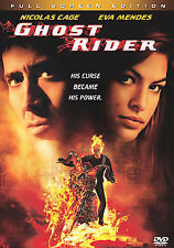 Ghost Rider DVD, 2007, Full Frame Nicolas Cage Action/Adventure FREE SHIP USA