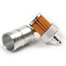 Aluminum Fuel Oil Filter fit 50 70 90cc 110cc 4 Strokes Dirt Pit Bike & 2 Stroke