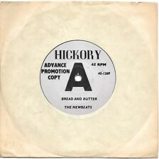 1964 THE NEWBEATS Advance Promotion Copy BREAD AND BUTTER Hickory 7-Inch 45 RPM