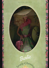 BARBIE SIMPLY CHARMING 1994 SPECIAL EDITION With Gold Tone Charm Bracelet NRFB