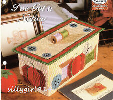 """SEWING BOX""~Plastic Canvas PATTERN~PATTERN ONLY~SEE PICTURES"