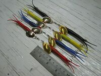 Yellow Flying C Spinners 15g #3 Lure Bait Bass Blue Salmon Pike Sea Trout FC171