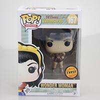 FUNKO POP! DC Bombshells Wonder Woman Vinyl Chase Variant GRAIL Nice #1  12853