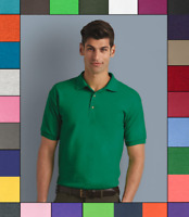 Gildan DryBlend Jersey Sport Shirt Plain Short Sleeve 6 oz 50/50 Polo S-5XL G880