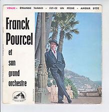 Franck POURCEL Violon 45T EP VENUS - ETRANGE TANGO -EST-CE UN PECHE -AMOUR D'ETE