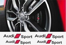 4x Audi Sport Aufkleber für Bremssättel  Emblem Logo A1 A2 A3 A4 A4 A6 A7 A8 A3.