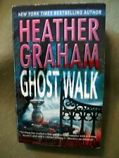 Set of 4 Heather Graham Paperbacks ~ Ghosts Walk, Blood Red, The Cursed &