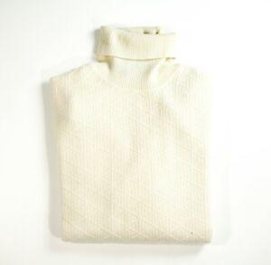 NEW STEFANO RICCI LOGO Sweater Cashmere Silk  Size L Us 52 Eu (M10)