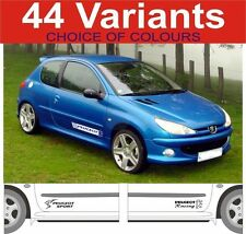 Peugeot 106 107 206 207 306  307 gti hdi decals sticker choice of design 2 off