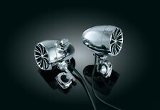 """Chrome Haut-parleurs Kit mp3 """"High-end"""" trike quad Cruizer voiturettes de golf ATV"""