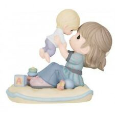 $ New PRECIOUS MOMENTS Figurine BABY AND MOTHER LOVE Porcelain Statue Infant