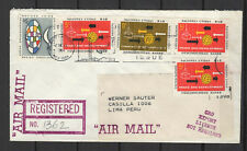 Nations Unies New-York Peru Lima 5 timbres sur lettre tampon date 1964/B5N-U20