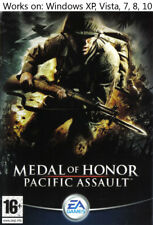 Medal of Honor Pacific Assault PC Game Windows XP Vista 7 8 10