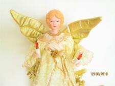 Vintage Light Up Angel Christmas Tree Topper Or Counter Display
