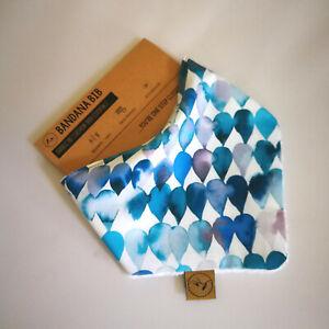 Dribble Bib ZESPY Baby Bandana Adjustable 100% Cotton/Terry Cloth