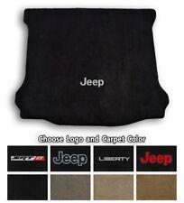 2002-2013 Jeep Liberty Velourtex Carpet Cargo Floor Mat - Choose Color & Logo