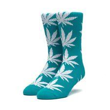 HUF Plantlife Crew Socks - Botanical Green