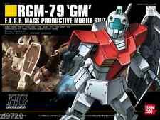 BANDAI HG HGUC RGM-79 GM (Mobile Suit Gundam) 1/144 scale kit