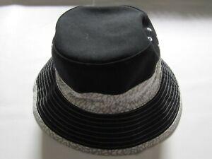 Black & White NBA Men's Bucket Hat – Large – Preowned