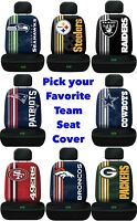 NFL Team Logo Printed Car Seat Cover Offically Licensed