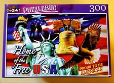 Home of the Free Puzzlebug 300 piece Brand New FREE SHIPPING